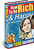 cover - Be Rich and Happy
