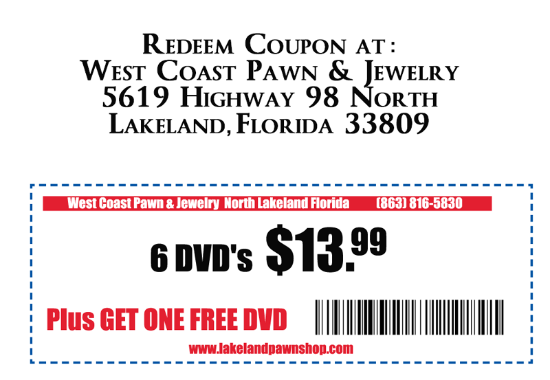 West coast pawn jewelry guns gold tampa bay 39 s best for Capital pawn gold jewelry buyers tampa fl